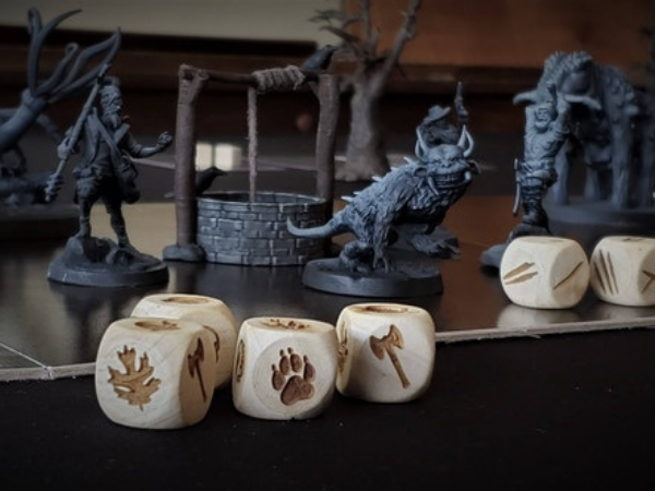 Fearsome Wilderness: the Board Game & Miniatures Collection