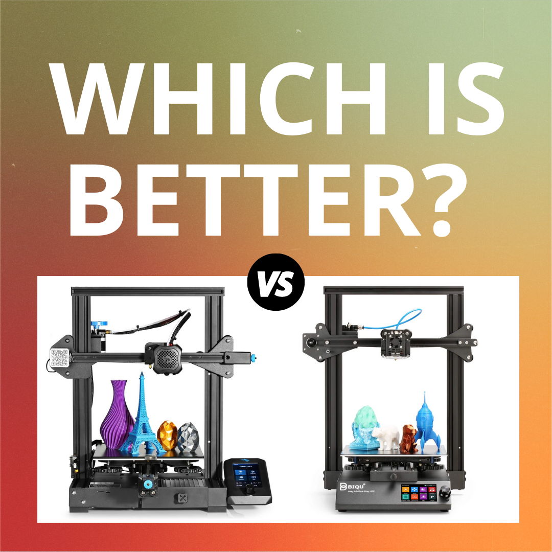 Which is better? Comparing the Ender-3 V2 to the BIQU B1