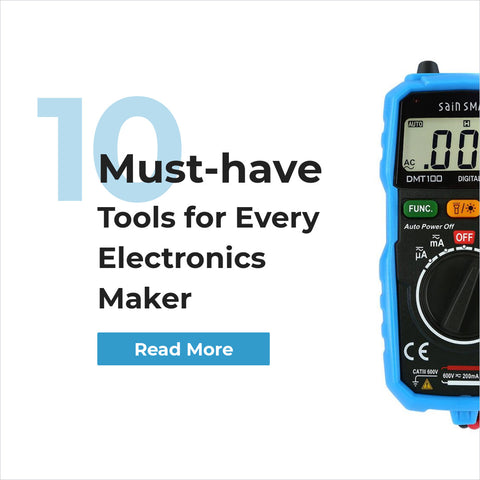 10 must-have tools for electronics