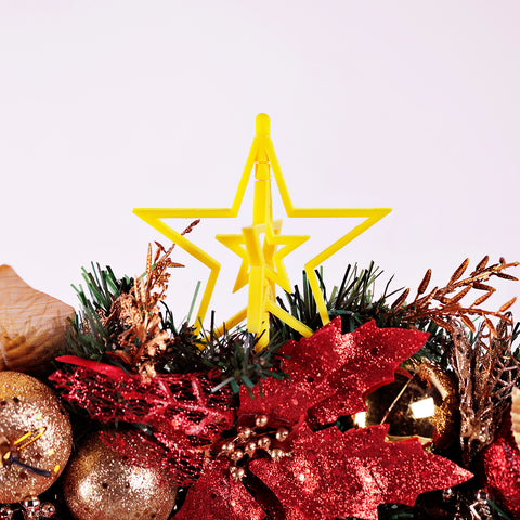Xmas printed spinning star