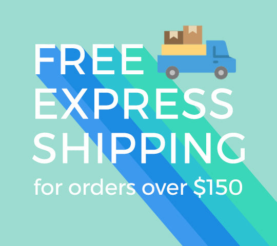 Free express shipping