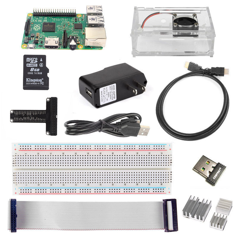 [Discontinued] Raspberry Pi 2/3 Accessory Kit