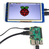 "7"" TFT LCD 800*480 Touch Screen Display for Raspberry Pi B/B+/Pi2"