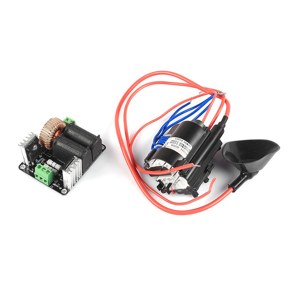 Zero Voltage Switching Tesla Coil Flyback Driver For Sgtc