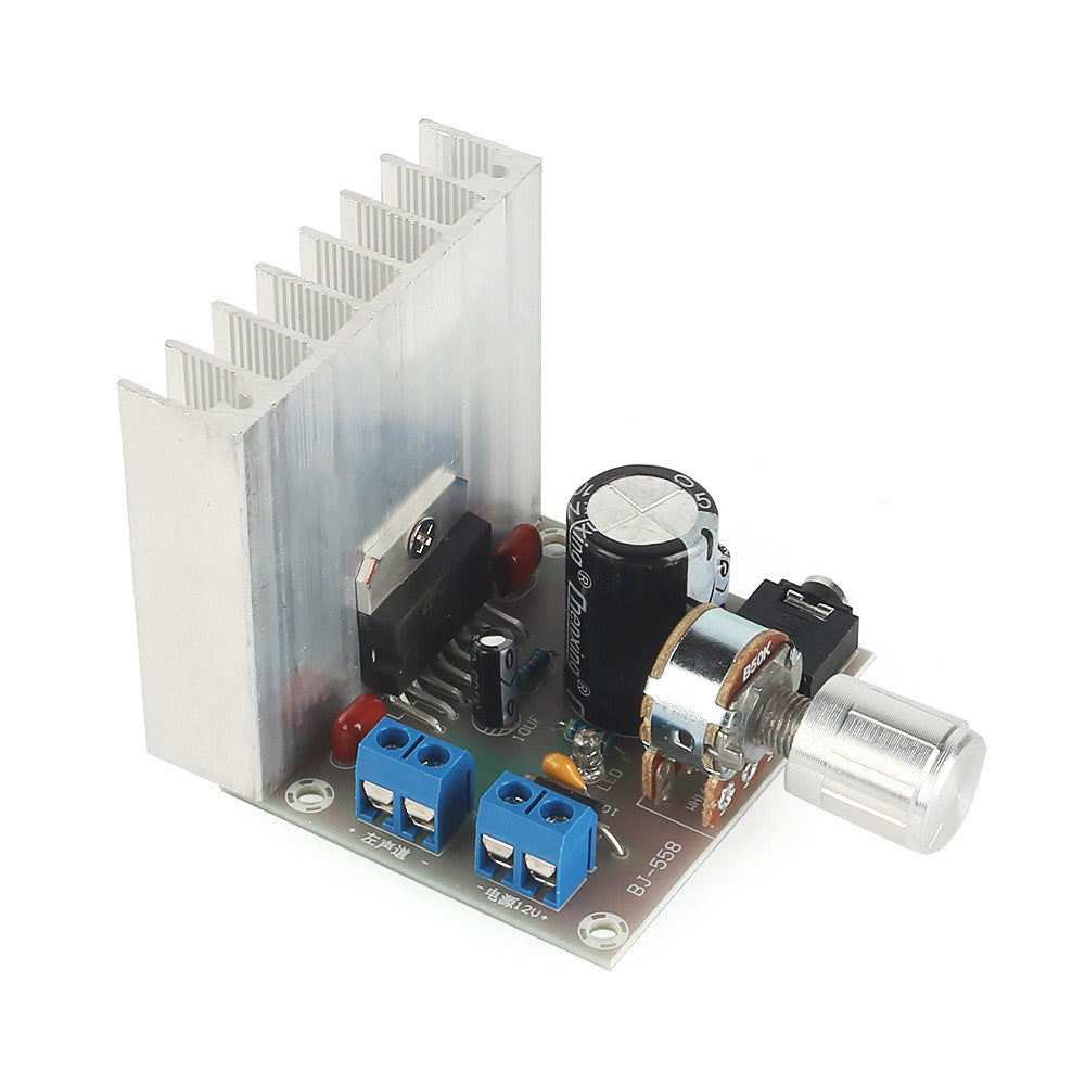 DC 12V 35W+35W 2.0 Dual-Channel Stereo Audio Power Amplifier, TDA7377