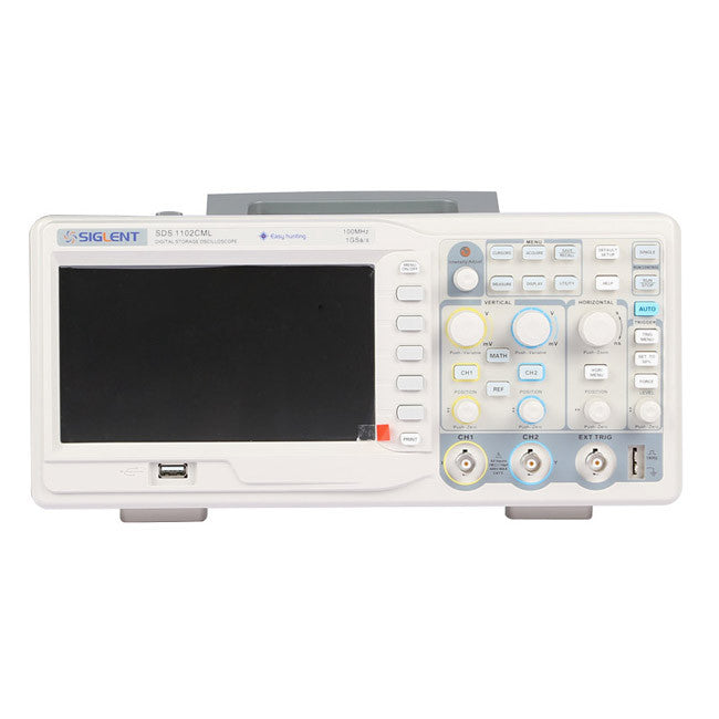 Siglent SDS1102CML100MHz 1GSa/s Real Time Sample RateDigital Oscilloscope