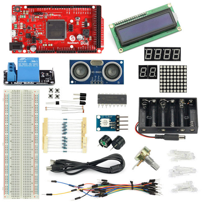 Sainsmart DUE + Distance Sensor + Relay Starter kit Compatible For Arduino PDF Project