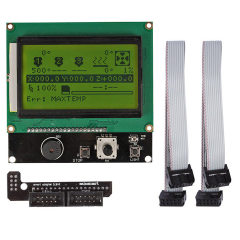 Smart Controller LCD 12864 LED Turn On Control for 3D Printer RAMPs 1.4