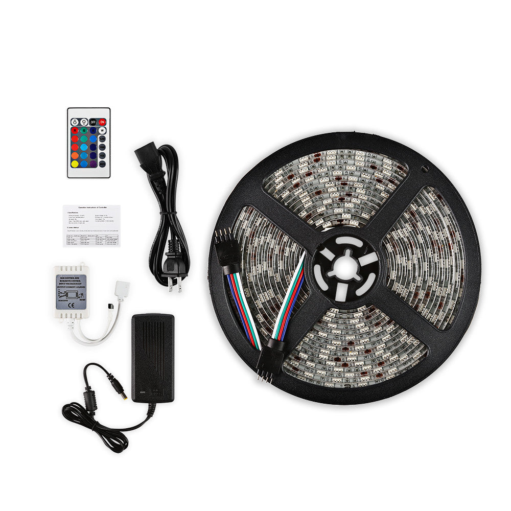 16.4ft / 5M Waterproof LED Strip Light Kit