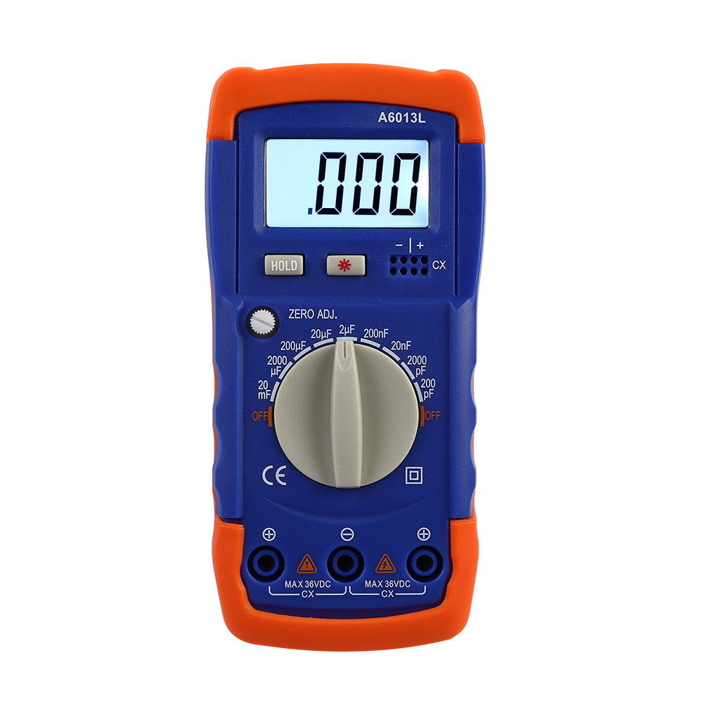 A6013L Digital Capacitance Capacitor Meter with LCD Display