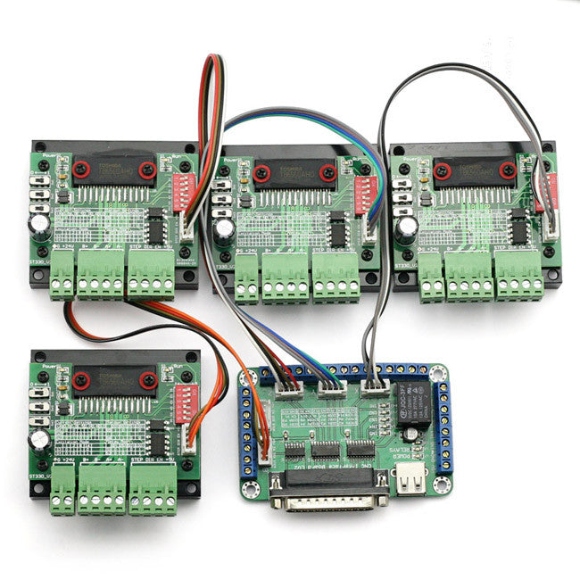 CNC Router Single Axis 3A TB6560 Stepper Stepping Motor Driver Controller Board