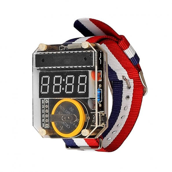 DIY Watch, Compatible with Arduino