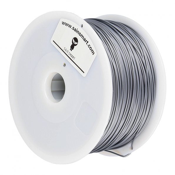 5PCS PLA Filament 1.75mm 1kg/2.2lb, Silver