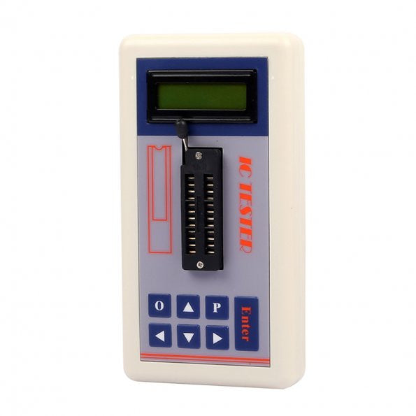 Digital LED IC Tester IC Detector Meter for Maintenance MOS PNP NPN [US ONLY]