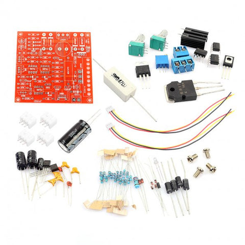Soldering Practice Kit, AC 24V to 0-30V 2mA-3A Adjustable Power Supply