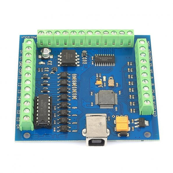 4 Axis CNC Mach3 USB Motion Controller Card Interface