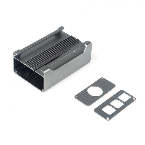 SainSmart NEW High Quality Aluminum Alloy Protective Case for Raspberry Pi Model RPi B+ & RPi 2(Silver Grey)