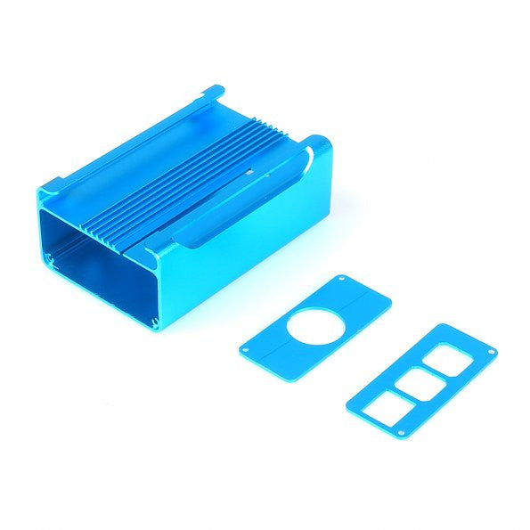 SainSmart NEW High Quality Aluminum Alloy Protective Case for Raspberry Pi Model RPi B+ & RPi 2(Blue)
