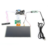 "SainSmart HDMI/VGA Digital 9"" 9 Inch Touch Screen LCD+Driver Board for Raspberry Pi"