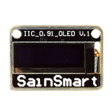 "SainSmart 0.91"" I2C IIC Serial 128X32 Blue OLED for Arduino UNO MEGA2560"