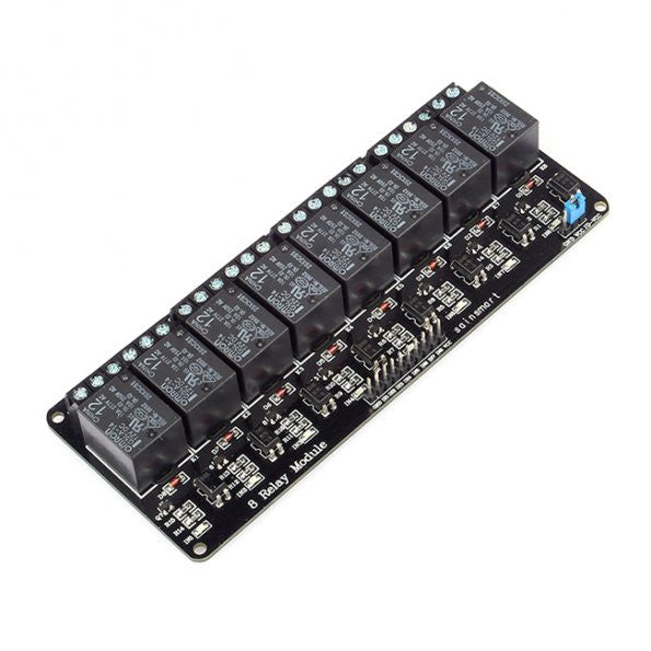 OMRON 8 Channel 12V Relay Module for Arduino Mega2560 R3 UNO R3 Raspberry Pi ARM