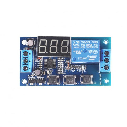 Multi-function Dual MOS Control Relay Cycle Timer Module Delay Time Switch DC 12/24V Components
