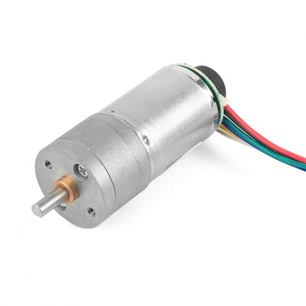 12V DC Motor 201rpm w/Encoder for Robotic Arms
