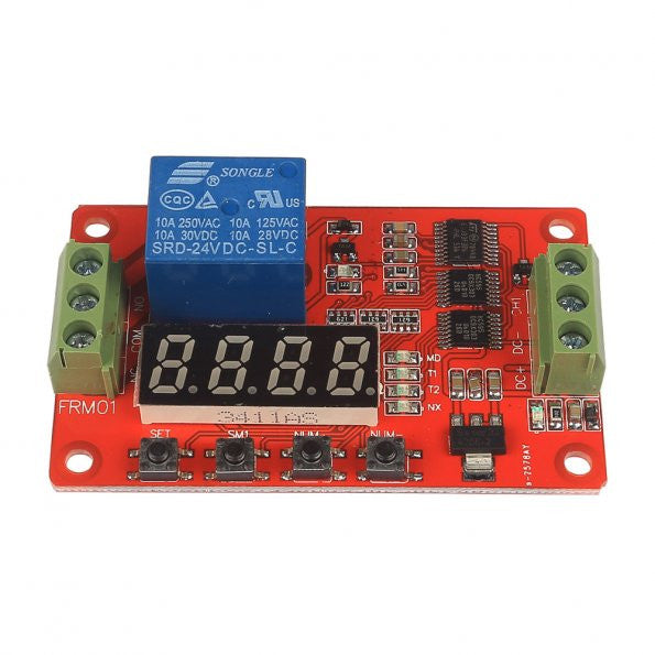 24V Relay Cycle Timer Module