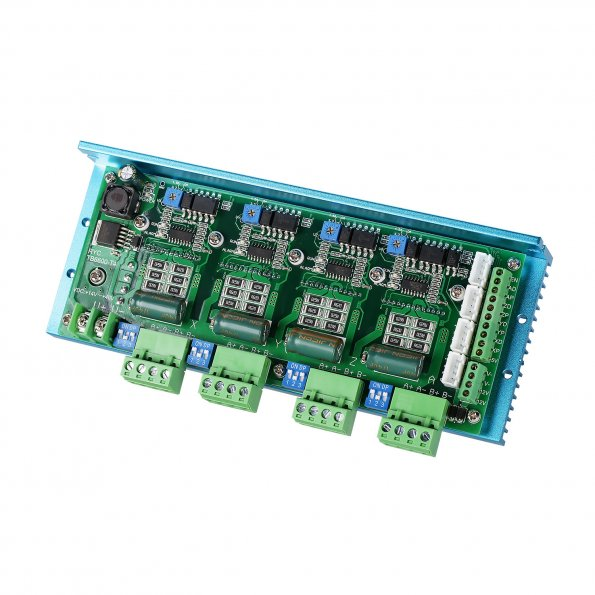 sainsmart tb6600 multi axis cnc stepper motor driver board