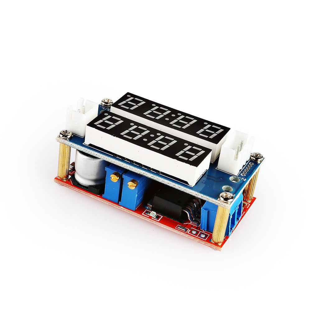 5A Constant Current / Voltage LED Driver Battery Charging Module Voltmeter Ammeter for Arduino