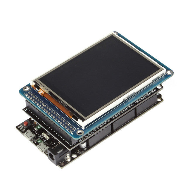 SainSmart Due Board+3.2 TFT Touch LCD Module Display+Shield Kit