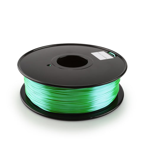 Green, Filament Silk PLA , 1.75mm - 1kg