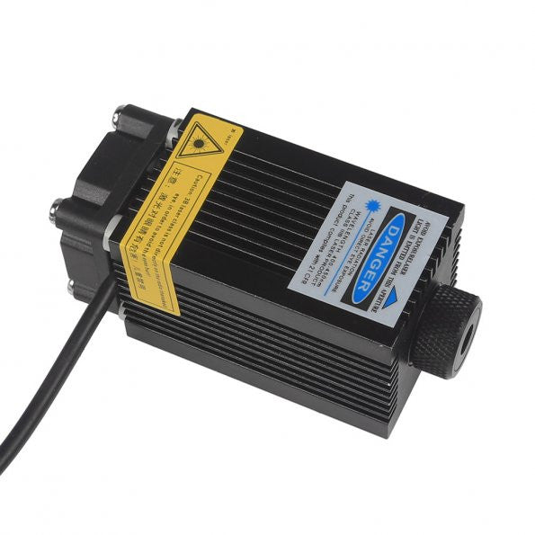 SainSmart 405nm500mW Square High-power Blue Violet Laser Adjustable Focal Laser Head Lamp