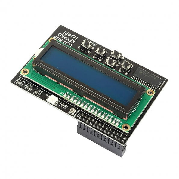 16x2 I2C IIC Interface RGB LED Screen  + Keypad For Raspberry Pi