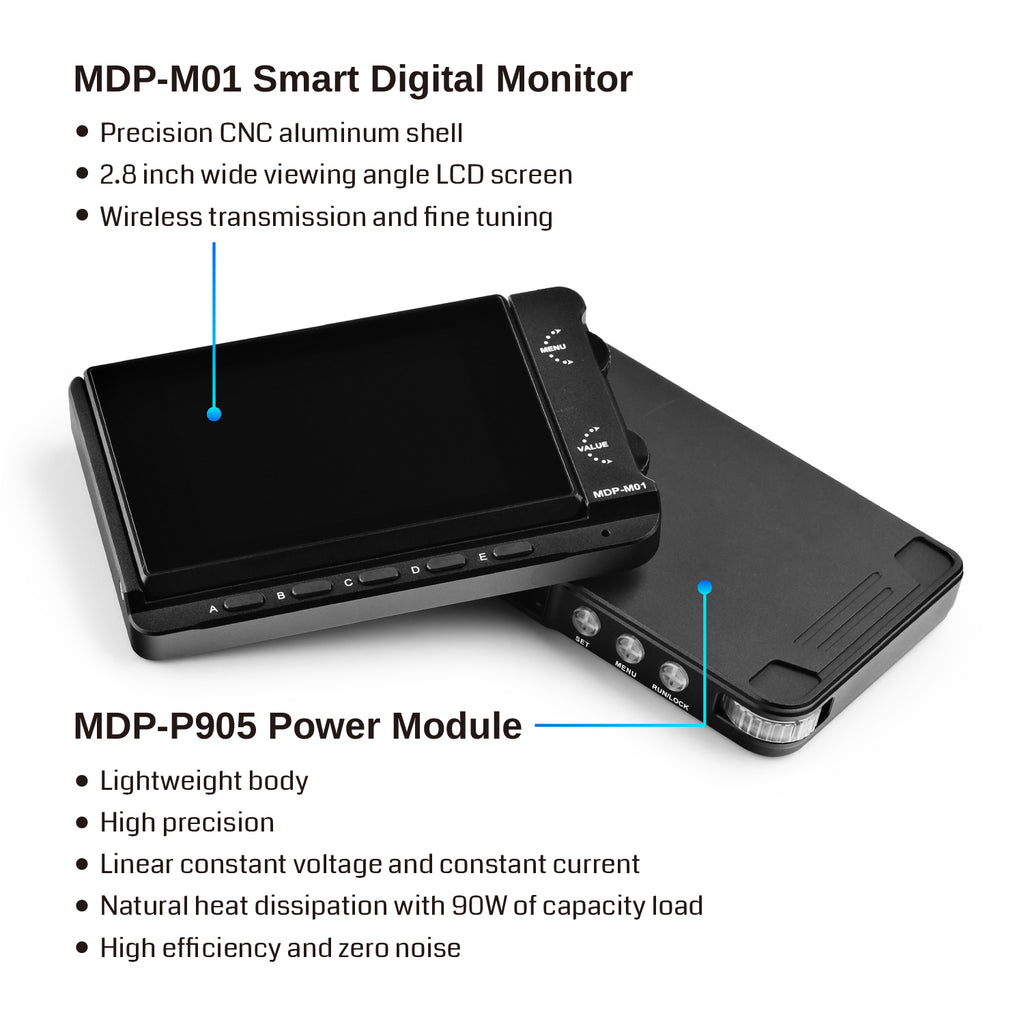 SainSmart MDP-XP Digital Power Supply Set