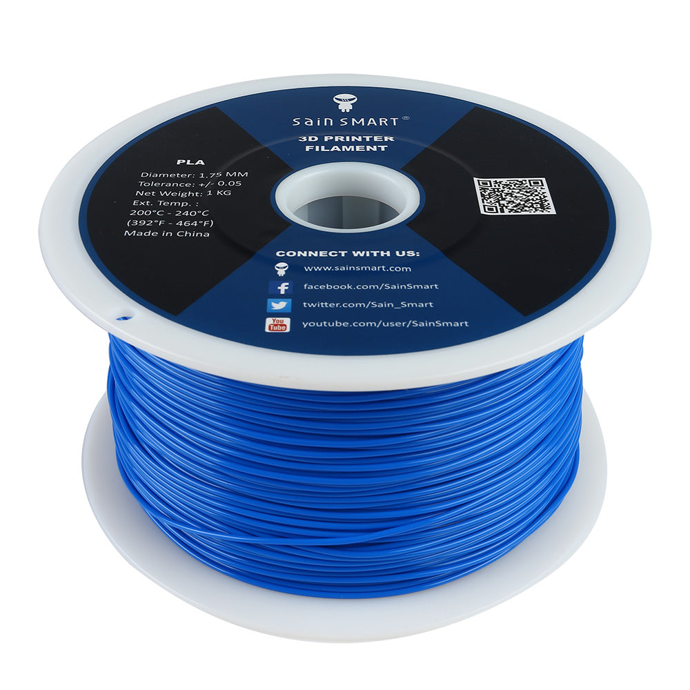 Blue, PLA Filament 1.75mm 1kg/2.2lb