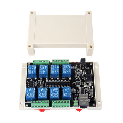 SainSmart RJ45 TCPIP Remote Controller Board With 8 Channels Relay