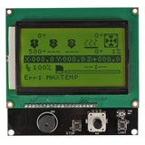 SainSmart Megatronics LCD12864 intelligent controllerLED background light control circuit.