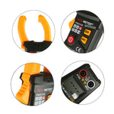Digital Clamp Meter PM2016S Smart Mini Multimeter AC DC Volt Current Meter with Blacklight LCD