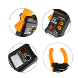 Digital Clamp Meter PM2016A Smart Mini Multimeter AC DC Volt Current Meter with Blacklight LCD