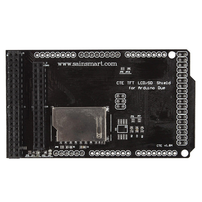 7'' LCD TFT Shield for Arduino DUE