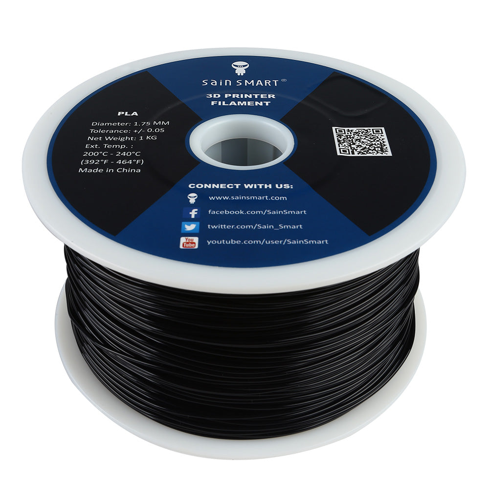 All Colors, PLA Filament 1.75mm 1kg/2.2lb