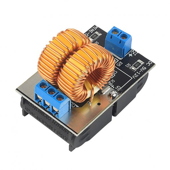 ZC Power Supply Module 5V-12V ZVS Low Voltage Induction Heating Power Supply