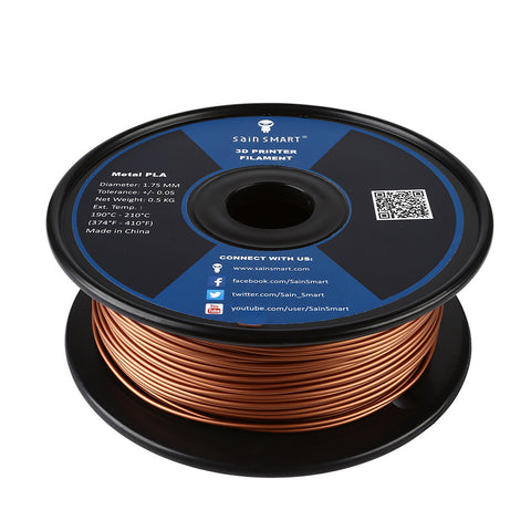 Metal x PLA Blend Filament 1.75mm 0.5kg/1.1lb