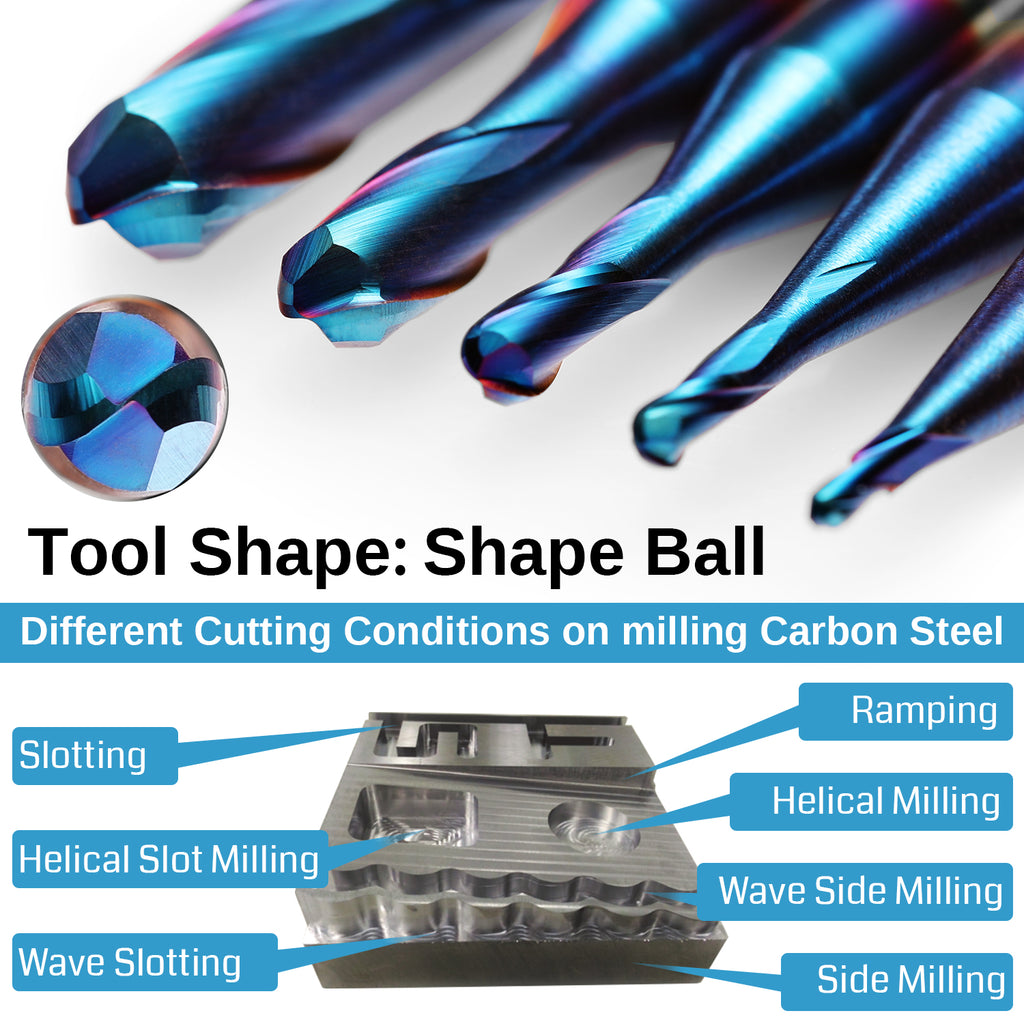 Genmitsu CNC Long Neck Ball Nose Bit End Mill