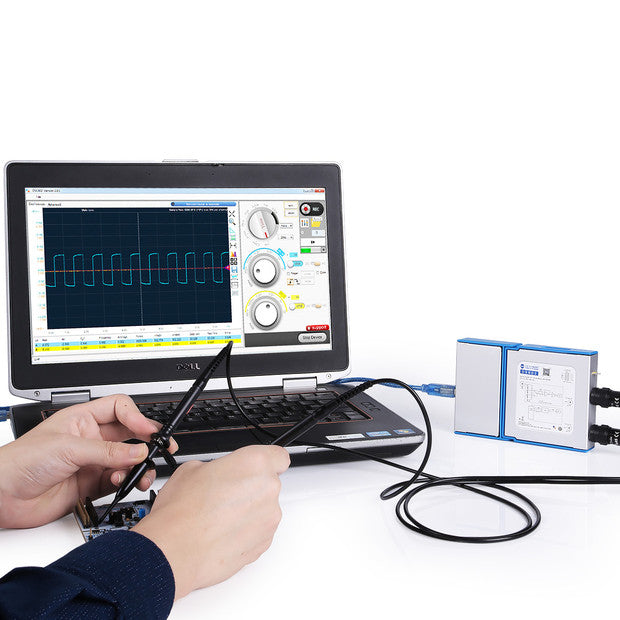 SainSmart DS802 Dual Channel Virtual PC Oscilloscope