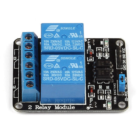 2 channel 5v relay module sainsmart com rh sainsmart com arduino 2 channel relay board 2 channel relay board for raspberry pi