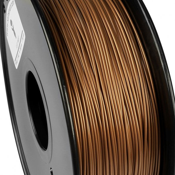 Plated Copper PLA Filament 1.75mm 1kg/2.2lb [US ONLY]
