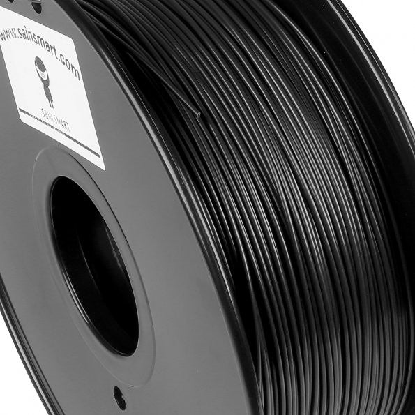 Black, Flame Retardant ABS Filament 1.75mm  1kg/2.2lb