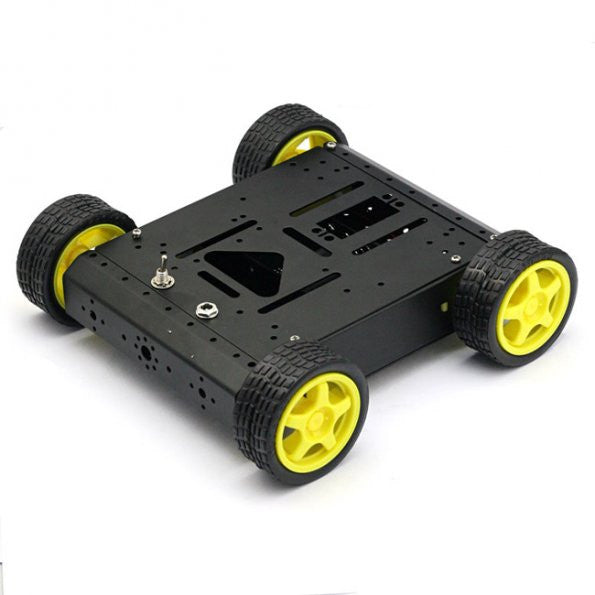 4WD Mobile Car Robot Kit for Arduino Uno R3